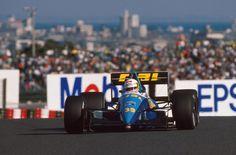 Bertrand Gachot, Rial-Ford ARC2, 1989 Japanese GP, Suzuka