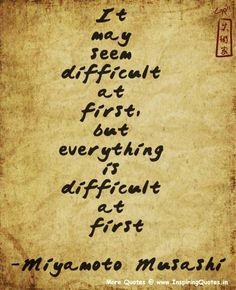 musashi quotes and sayings | Miyamoto Musashi Quotes, Inspirational Thoughts by Miyamoto Musashi