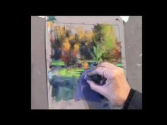 Underpainting Techniques on UART: Mineral Spirit Wash Part Two: Applying Pastel - YouTube