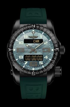 Emergency Night Mission - Breitling - Instruments for Professionals