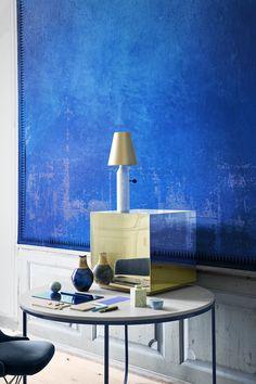 Blue Wall via LEUCHTEND GRAU