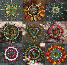 Mandala Nature Art inspiration