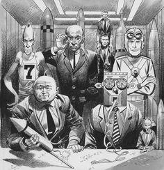 Jack Davis artwork Mad Magazine 1956