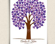 Guest Book Alternative The Wishwik Multi Tree A by peachwik