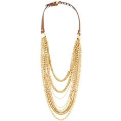 Henri Bendel No.7 Long Layered Necklace found on Polyvore