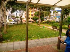 Parque turbay, parada metrolinea.