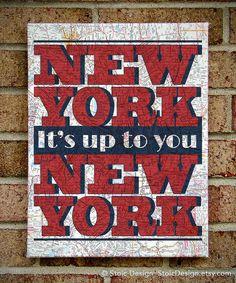 New York, New York -Frank Sinatra