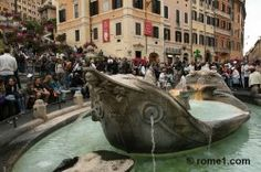 fontaine de la Barcaccia