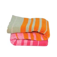 "Espalma Honolulu Towel in Fuschia - perfect for a day at the beach. 40x70"". $47.50"