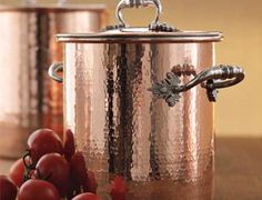 beautiful copper pot, I want it!!! OMG do you know how much these are but I love them so much!!!!