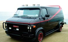 """The A Team"" used car in to tv series: 1983 GMC Vandura"