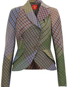 Vivienne Westood Harris Tweed--Sherlock Holmes is totally a superhero.