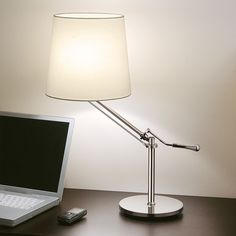 BEAUTIFUL  Chelsom Angle Table Lamp | Houseology