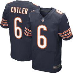 Jay Cutler Chicago Bears Nike Elite Jersey – Navy Blue - $149.99