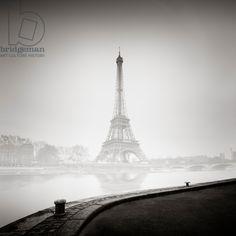 Tour Eiffel, Paris, France, 2013 (b/w photo) / Photo © Ronny Behnert / Bridgeman Images