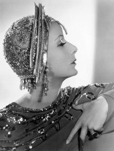 Greta Garbo, in Mata Hari, directed by George Fitzmaurice, 1931
