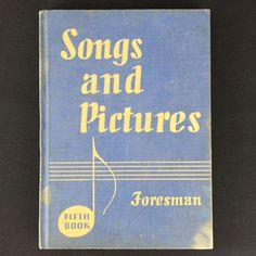 Vtg 1930s Children Music Songs & Pictures Book Fifth Foresman Elementary Jr High