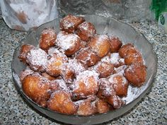 Fritule, or little Croatian doughnuts as tourists like to call them, are a popular sweet in Croatia, especially over Christmas. They are easy to make and there are a number of different twists to the … Croatian Recipes, Italian Recipes, Italian Cooking, Tv Chefs, English Food, Fritters, Finger Foods, Food Print, Dessert Recipes