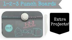 Hello Friends! In this video I show you all of the extra awesome projects you can do with the 123 Punch Board from We R Memory Keepers! Note: this is not a s...