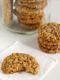 Oatmeal Coconut Cookies   Excellent basic quick cookie!!