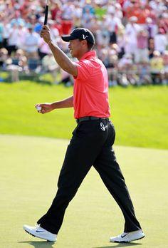 June 3, 2012    Tiger triumphant. (Getty Images)
