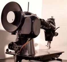 It's hard to beat a Singer 15-91 vintage sewing machine, with it's direct-drive, built-in motor.