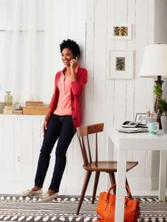 Stand in front of a wall, feet shoulder-width apart, spine straight, shoulders back and down. Press ... - Provided by Redbook