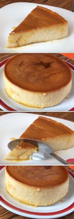 """La mejor receta de FLAN NAPOLITANO CON QUESO CREMA """" By Jenny Salas  #flan #napolitano #pudin #budines #flanes #chocolate #gelato #postre #receta #recipe #casero #tartas #nestlecocina #bizcocho #bizcochuelo #tasty #cocina #cheesecake #helados #budin #flanes #pan #masa #panfrances #panes #panettone #pantone #panetone #navidad   Si te gusta dinos HOLA y dale a Me Gusta MIREN.. Creme Brulee Cheesecake, Cheesecake Cake, Fun Desserts, Delicious Desserts, Yummy Food, Flan Napolitano Recipe, Sweet Pie, Almond Cakes, Breakfast Dessert"""