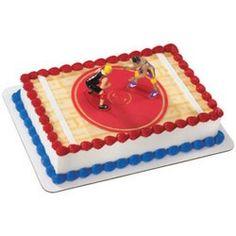 Wrestling Cake Decorating Ideas