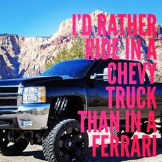 Experiencing a #Chevy truck is like no other thrill.