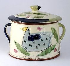 quirky casserole dish by Kevin Warren.