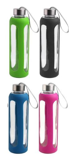 20 oz GLASS and STAINLESS STEEL water bottles for only $7.99!! these would make great gifts for your team and oily friends!