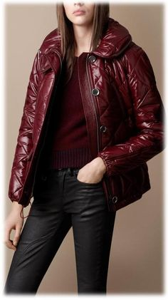 Burgundy♥Oxblood♥ Burberry