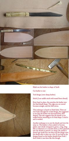 Seax Sheath Tutorial by Wordsmithcrafts