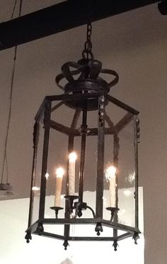 "Jerry Pair - Dennis & Leen - Italian Lantern - 19"" diameter, 36"" high - $3,580 net"