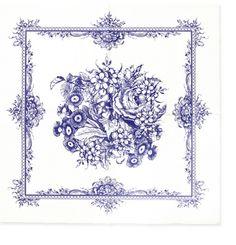 Imagens para Decoupagem: Papel floral para decoupage