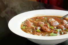 Smoked Turkey Gumbo-Creole Contessa -- healthy take on a classic. Must try?