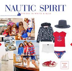 Nautic Spirit for Kids. Numa loja Lanidor Kids ou em www.lanidor.com. // In Lanidor Kids stores or at www.lanidor.com.