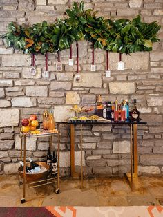 Set a Beautiful Bar for Your Holiday Parties >> http://blog.diynetwork.com/maderemade/2013/11/26/how-to-stock-a-bar-for-your-holiday-parties?soc=pinterest