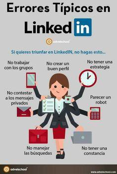 Errores típicos en LinkedIn #SocialMedia #SocialMediaOP #Marketing