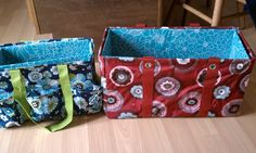 DIY inserts for your Thirty One Large Utility Tote & Organizing Utility Tote!  Cardboard covered in vinyl tableclothes.  Helps keep your items in order, your bag standing up & open, and easy to wipe down!