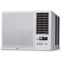 LG 7,000-BTU 115V Window-Mounted Room Air Conditioner with 3,850-BTU Supplemental Heating Function