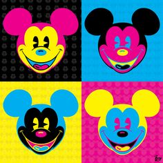 CMYKcey Mouse