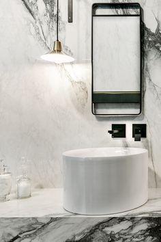 Tuscan design – Mediterranean Home Decor Kirkland House, Bathroom Gallery, Tuscan Design, Mediterranean Home Decor, Porcelain Tile, Sink, Modern, Ambulance, Campers