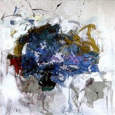 Joan Mitchell, Untitled, 1964, oil on canvas, h: 29.5 x w: 29.5 in / h: 74.93 x w: 74.93 cm