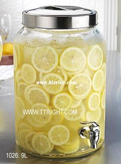 Air tight juice dispenser jar