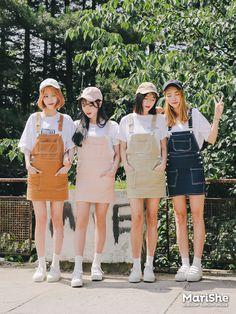 마리쉬♥패션 트렌드북! Korea Fashion, Asian Fashion, 90s Fashion, Girl Fashion, Fashion Outfits, Womens Fashion, Fashion Design, Fashion Trends, Mode Ulzzang