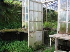 How to Make a Green House From Old Windows.  Will do some day.