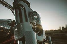 Indian Scout FTR1200 Custom LED Headlight