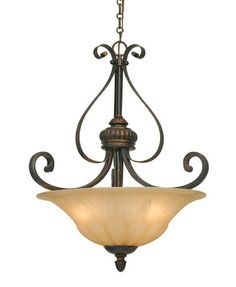Golden Lighting Mayfair Pendant Bowl Gl 7116 3p Lc Dining Room Light Fixtures